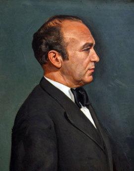 Portrait von Dr. Karl Nowotny